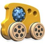 Beginagain Toys Nubble Rumblers Wooden Bus Toy
