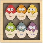 BeginAgain Toys Color 'N Eggs Matching Game b1501