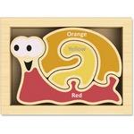 Beginagain Toys Mini Color Snail Puzzle
