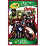 Crayola Marvel Avengers Giant Coloring Pages 40196