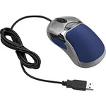 Fellowes HD Precision Mouse - Optical - 5-Button, Silver/Blue FEL98905