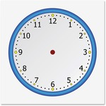 Flipside Static Cling Blank Clock Face 900020
