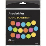 Astrobrights Round Banner Kit