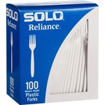 Solo Cup Reliance Medium Weight Boxed Forks rswfx0007