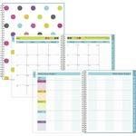 Blue Sky Dots Cyo Wkly/mthly Teacher Planner