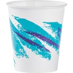 Solo Jazz Design Waxed Paper Cold Cups 52mdn00055