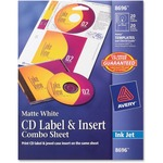 Avery CD Label & Insert Sheet Combo AVE8696
