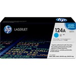 HP 124A Cyan Original LaserJet Toner Cartridge HEWQ6001A