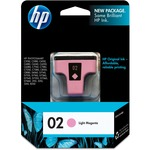 HP 02 Light Magenta Original Ink Cartridge HEWC8775WN