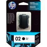 HP 02 Black Original Ink Cartridge HEWC8721WN