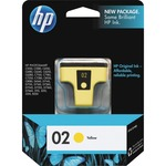 HP 02 Yellow Original Ink Cartridge HEWC8773WN