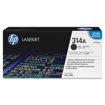 HP 314A (Q7560A) Black Original LaserJet Toner Cartridge HEWQ7560A