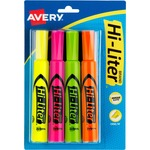 Avery Hi-Liter Desk Style Highlighters AVE24063
