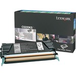 Lexmark Black Return Program Toner Cartridge LEXC5220KS
