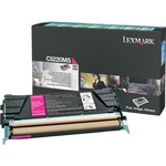 Lexmark Magenta Return Program Toner Cartridge LEXC5220MS