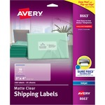 Avery Easy Peel Mailing Label AVE8663