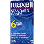 Maxell VHS Videocassette MAX213010