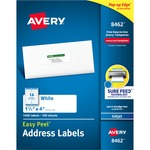 Avery Easy Peel White Mailing Labels AVE8462