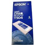 Epson Light Cyan Photographic Dye Ink Cartridge EPST504011