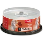 Imation DVD Recordable Media - DVD-R - 16x - 4.70 GB - 25 Pack Spindle IMN17340