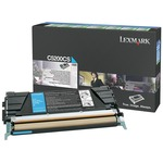 Lexmark Cyan Return Program Toner Cartridge LEXC5200CS