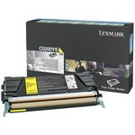 Lexmark Yellow Return Program Toner Cartridge LEXC5200YS