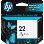 HP 22 Ink Cartridge - Cyan, Magenta, Yellow HEWC9352AN