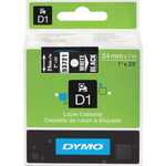 Dymo White on Black D1 Label Tape DYM53721