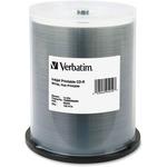 Verbatim 95252 CD Recordable Media - CD-R - 52x - 700 MB - 100 Pack Spindle VER95252