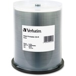 Verbatim 95256 CD Recordable Media - CD-R - 52x - 700 MB - 100 Pack Spindle VER95256