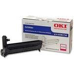 Oki Magenta Image Drum Kit For C6100 Series Printers OKI43381718