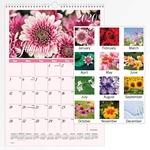At-A-Glance Flower Garden Monthly Wall Calendar AAGDMW30028