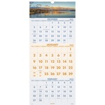 At-A-Glance Scenic 3-Months Per Page Panoramic Wall Calendar AAGDMW50328