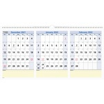 At-A-Glance 3 Months QuickNotes Horizontal Wall Calendar AAGPM1528