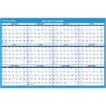 At-A-Glance Erasable Yearly Horizontal Wall Planner AAGPM20028