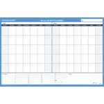 At-A-Glance Undated Horizontal Wall Planner AAGPM23328