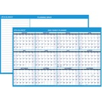 At-A-Glance Erasable Yearly Horizontal Wall Planner AAGPM30028