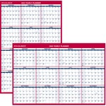 At-A-Glance Laminated and Erasable Wall Calendar AAGPM32628