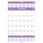 At-A-Glance 3-Months Wall Calendar AAGPM628