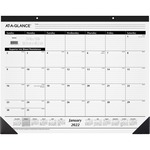 At-A-Glance Nonrefillable 12-Months Desk Pad Calendar AAGSK3000