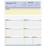At-A-Glance Flip-A-Week Desk Calendar Refill AAGSW70650