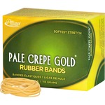 Alliance Rubber Pale Crepe Gold Rubber Bands ALL20169