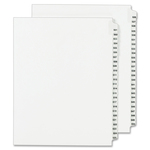Avery Legal Exhibit Reference Dividers AVE01350