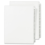 Avery Side Tab Legal Exhibit Index Dividers AVE01352