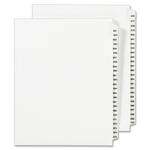 Avery Side Tab Legal Exhibit Index Dividers AVE01353
