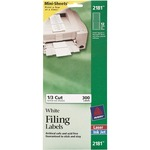 Avery Filing Mini-Sheet Label AVE2181