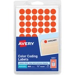 Avery Round Color-Coding Label AVE05051