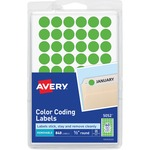Avery Round Color-Coding Label AVE05052