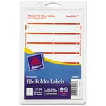 Avery Filing Label AVE05205