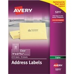 Avery Clear Mailing Label AVE5311